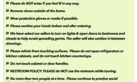 Seller Safety Protocol